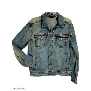 Sean John Denim Jean Jacket Mens Large
